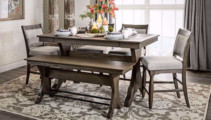 Picture of Catherine Table & Counter Height Stools