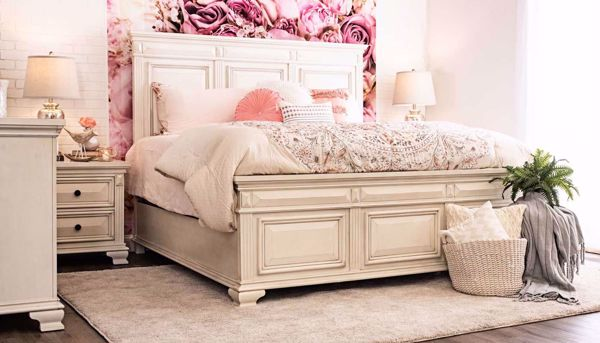 Picture of Calloway White Full Bed