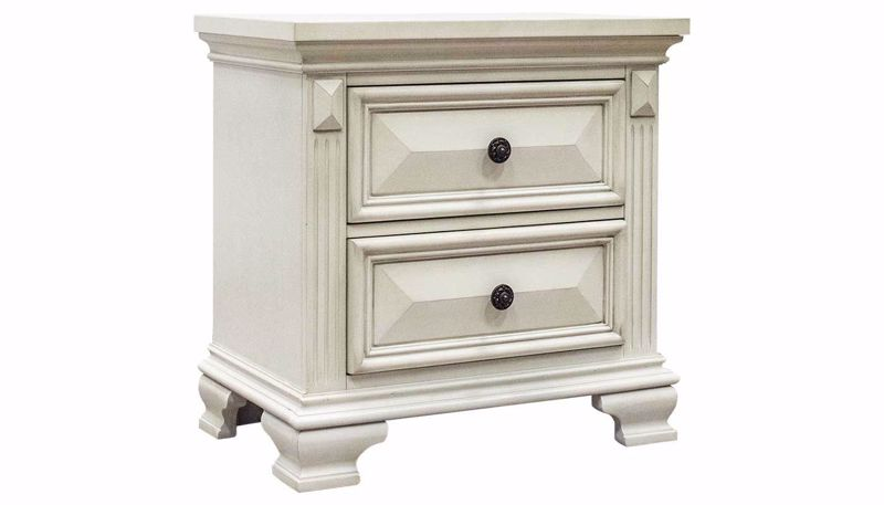 Picture of Calloway White Nightstand