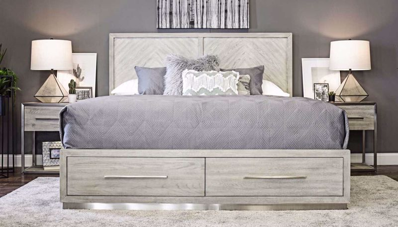 Picture of Bedford 3-Piece Bed, Dresser, Mirror & Nightstand