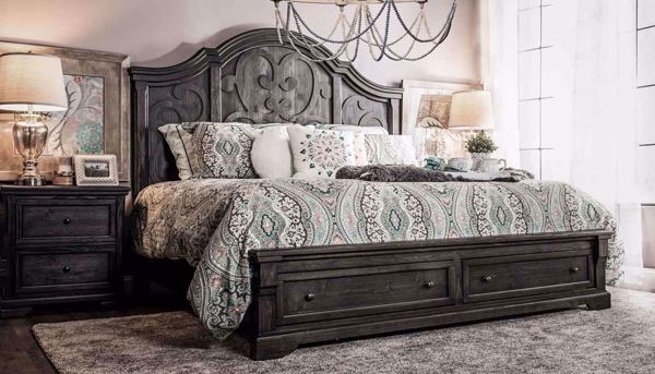 Picture of Amalfi 3-Piece Bed, Dresser, Mirror & Nightstand