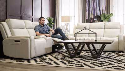 Macao Power Sofa & Loveseat