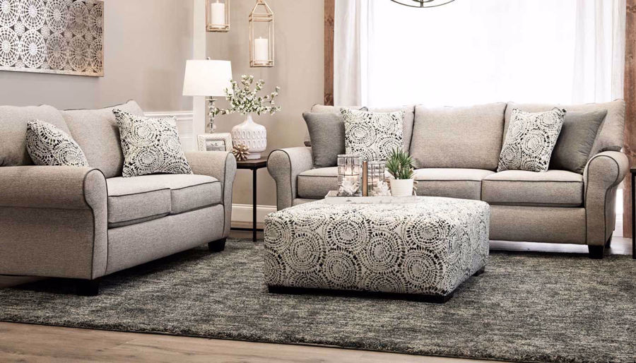 Picture of Mosaic Sofa, Loveseat & Ottoman