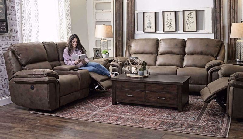 Picture of Navigator Power Sofa, Loveseat & Recliner