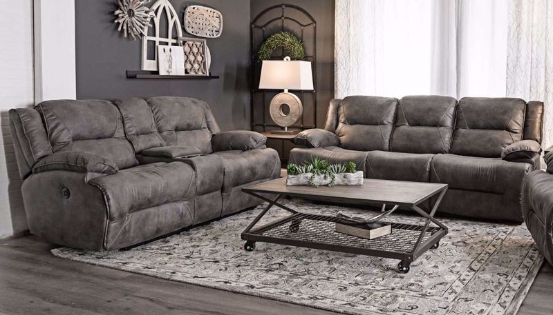 Picture of Jennings Power Sofa, Loveseat & Recliner