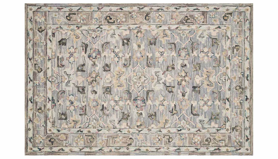 "Picture of Beatty Light Blue 7'9"" X 9'9"" Rug"