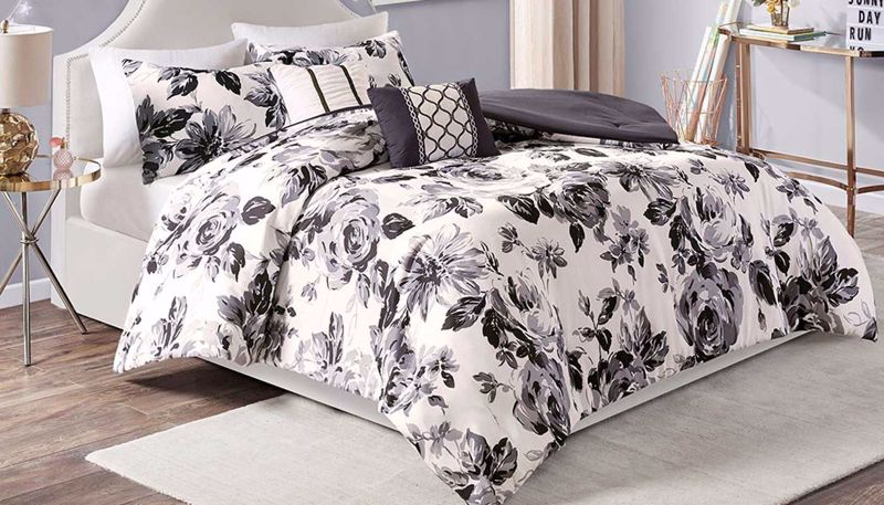 Picture of Dorsey Floral Comforter Set