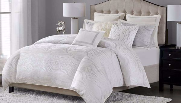 fabulous hollywood bedroom furniture set | Hollywood Glam Comforter Set - Home Zone Furniture ...