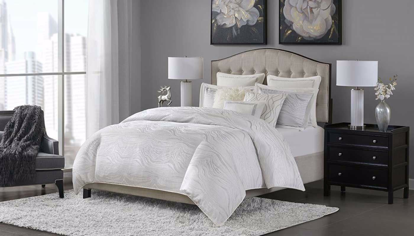 Hollywood Glam Comforter Set Home Zone Furniture