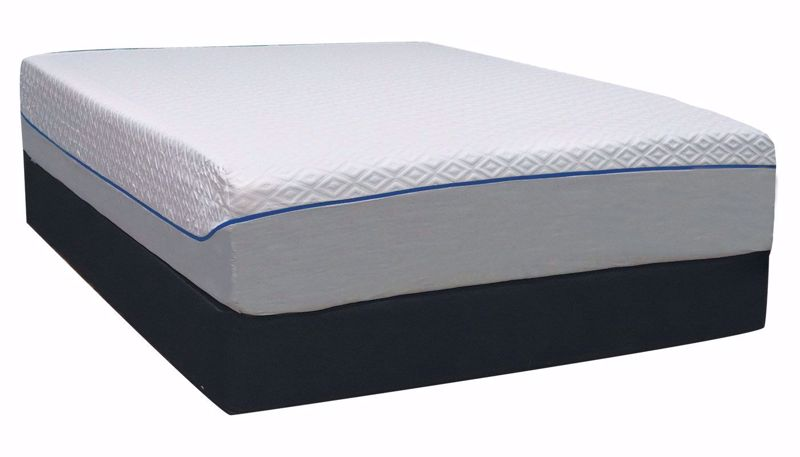 "Picture of Diamond III 14"" Queen Mattress Set"