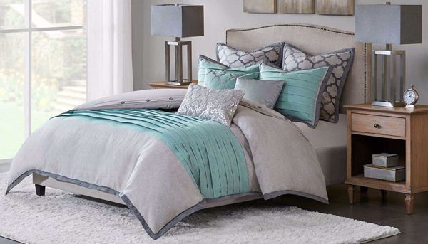 Picture of Tranquility Queen 8-Piece Comforter Set