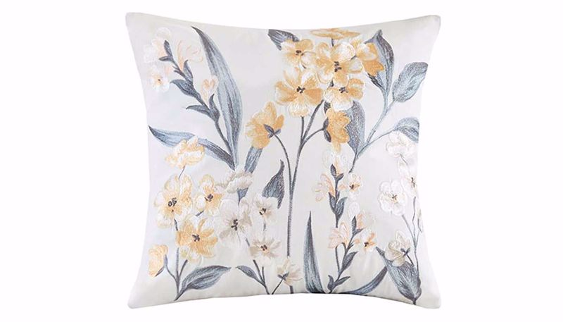 Picture of Venus Embroidered Flower Pillow