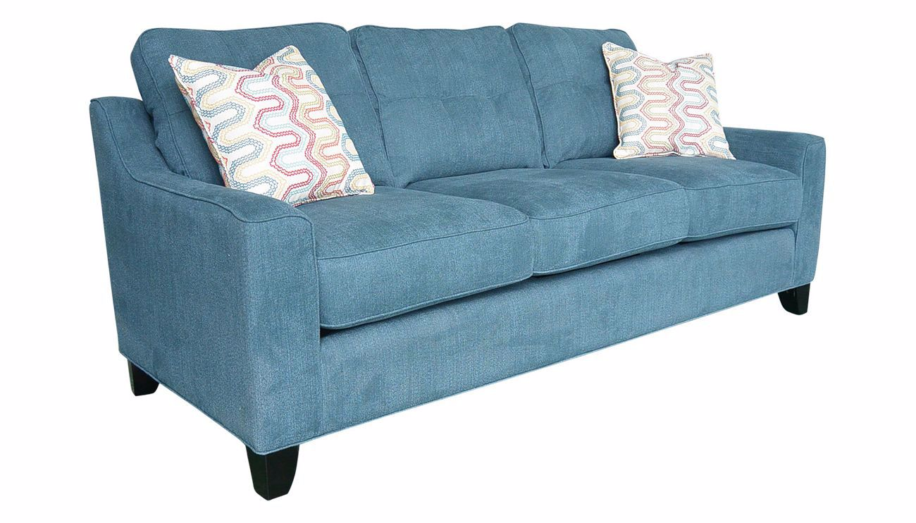 Madison Park Teal Sofa Home Zone Furniture Furniture
