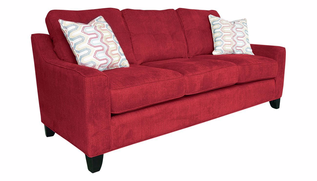 Madison Park Red Sofa