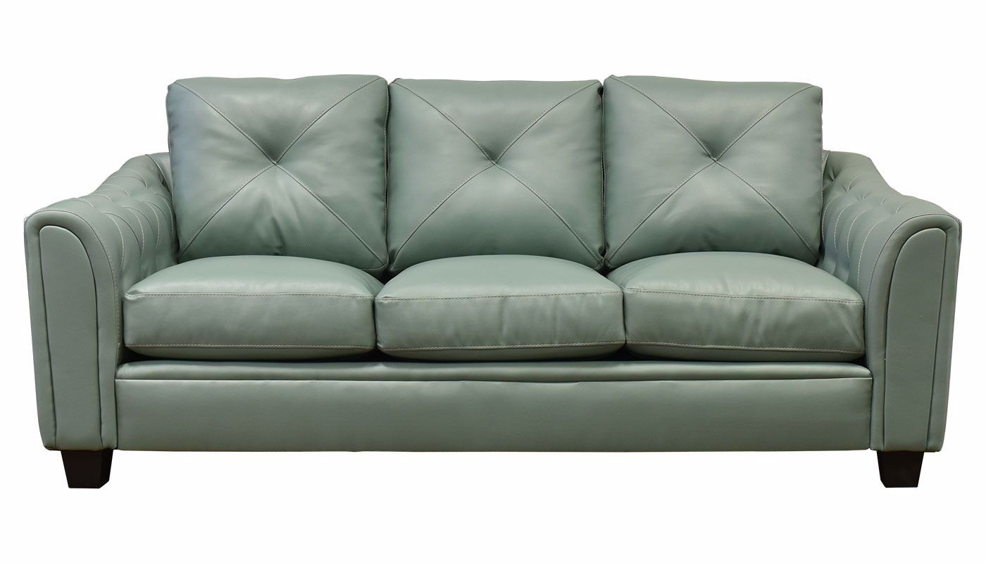 Shelby Green Sofa Home Zone Furniture Furniture Stores