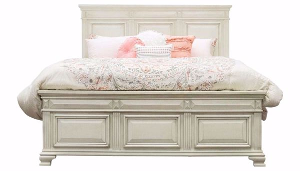 Picture of Calloway White Bed