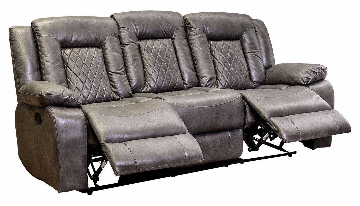 Lexis Charcoal Reclining Sofa Amp Loveseat Home Zone