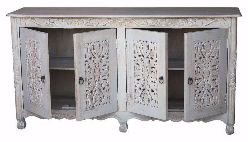 Picture of Chopra Cream Carving Sideboard