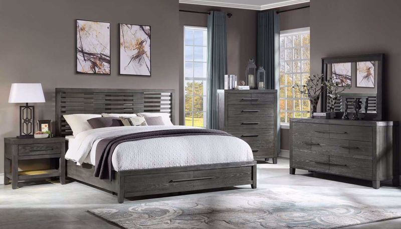 Imagen de Accolade 3-Piece Queen Bed, Dresser, Mirror & Nightstand