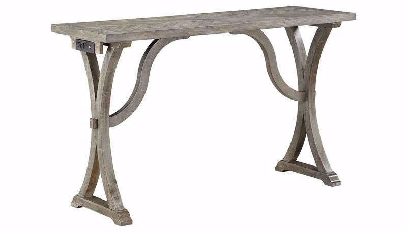 Picture of Petaluma Grey Bar Table with 3 Stools