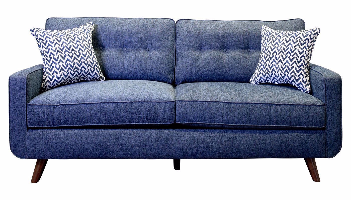 Admirable Hollywood Denim Sofa Gmtry Best Dining Table And Chair Ideas Images Gmtryco