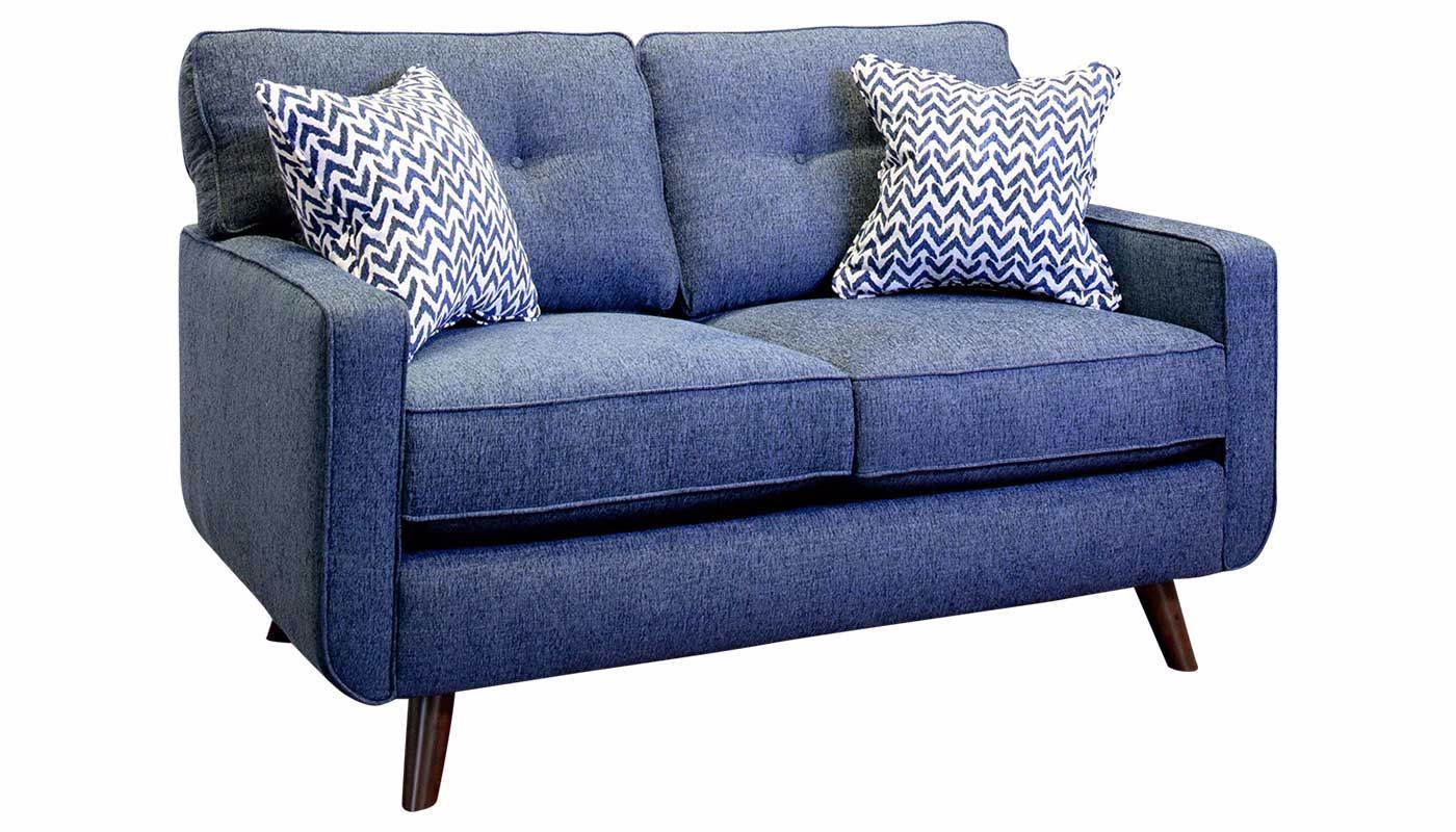 Phenomenal Hollywood Denim Sofa Loveseat Gmtry Best Dining Table And Chair Ideas Images Gmtryco