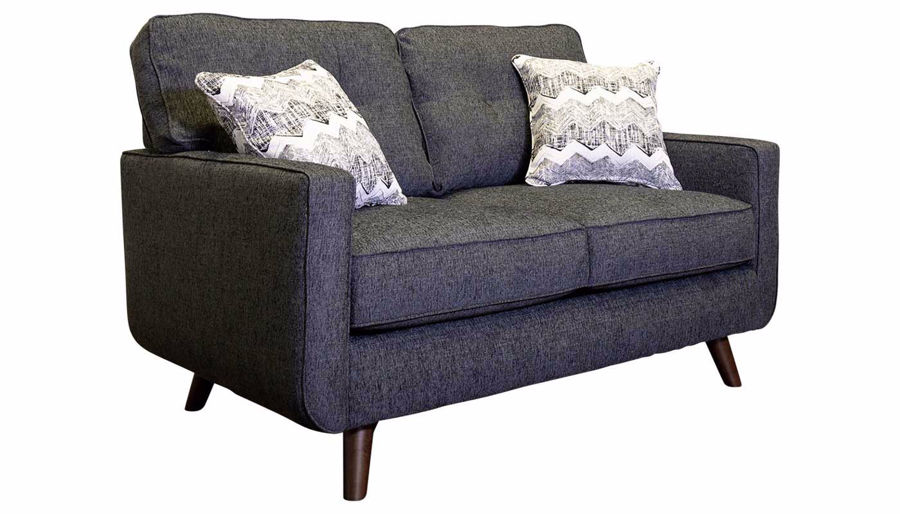 Imagen de Hollywood Graphite Loveseat