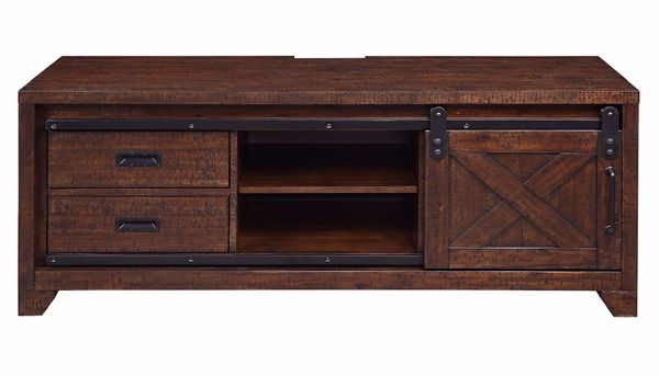 Statesman Tv Console With Power Box Home Zone Furniture
