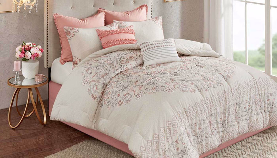 Picture of Elise Reversible King 8-Piece Comforter Set