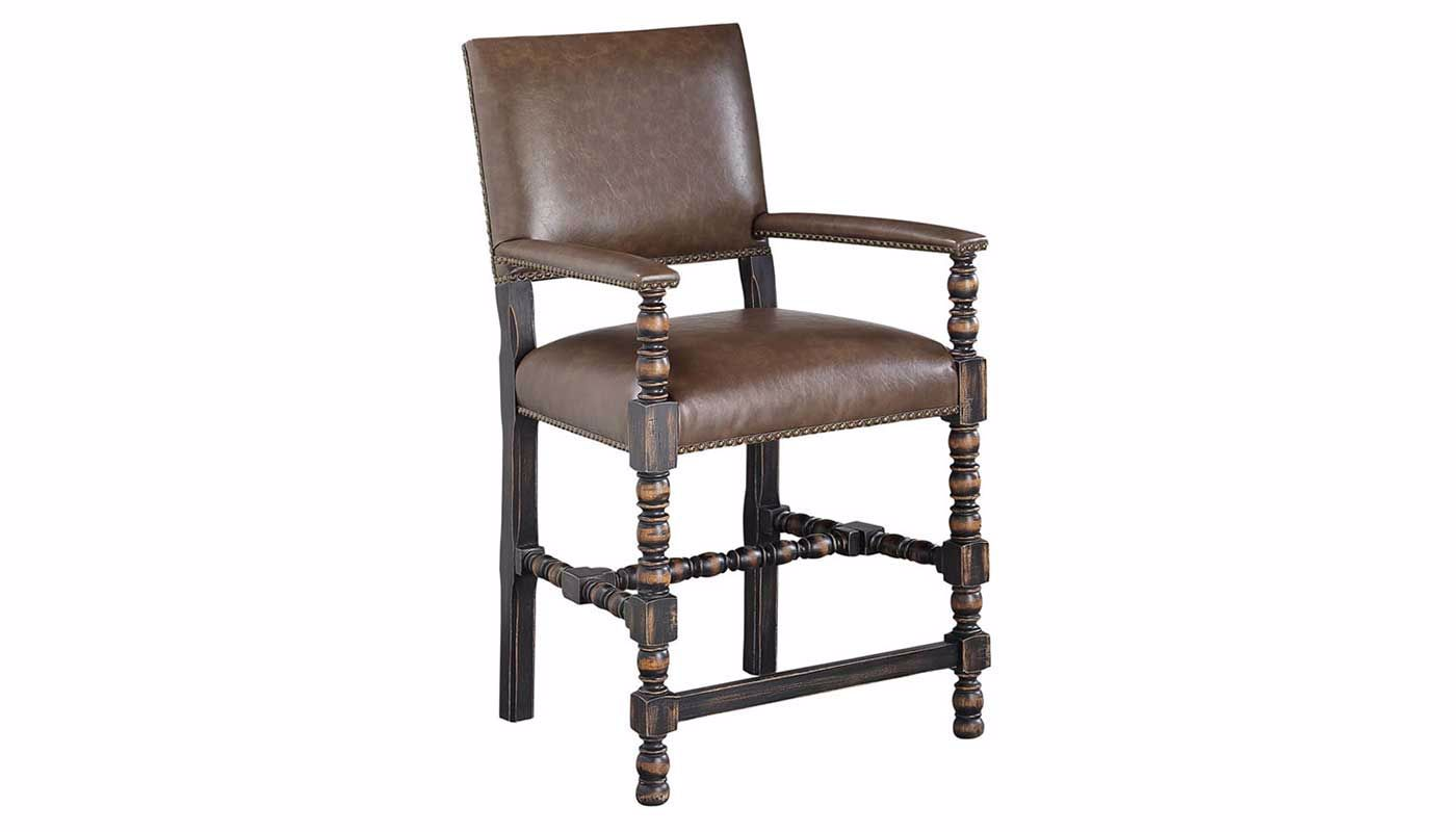 Cassidy/Sundance Arm Counter Height Chair - Home Zone ...