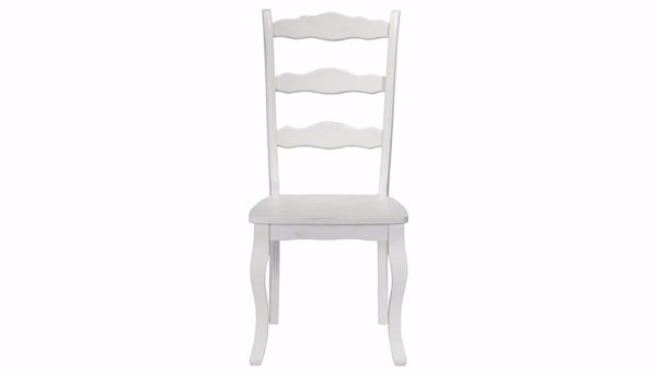 Picture of Daisy Table, 2 White Chairs & 2 Sage Chairs