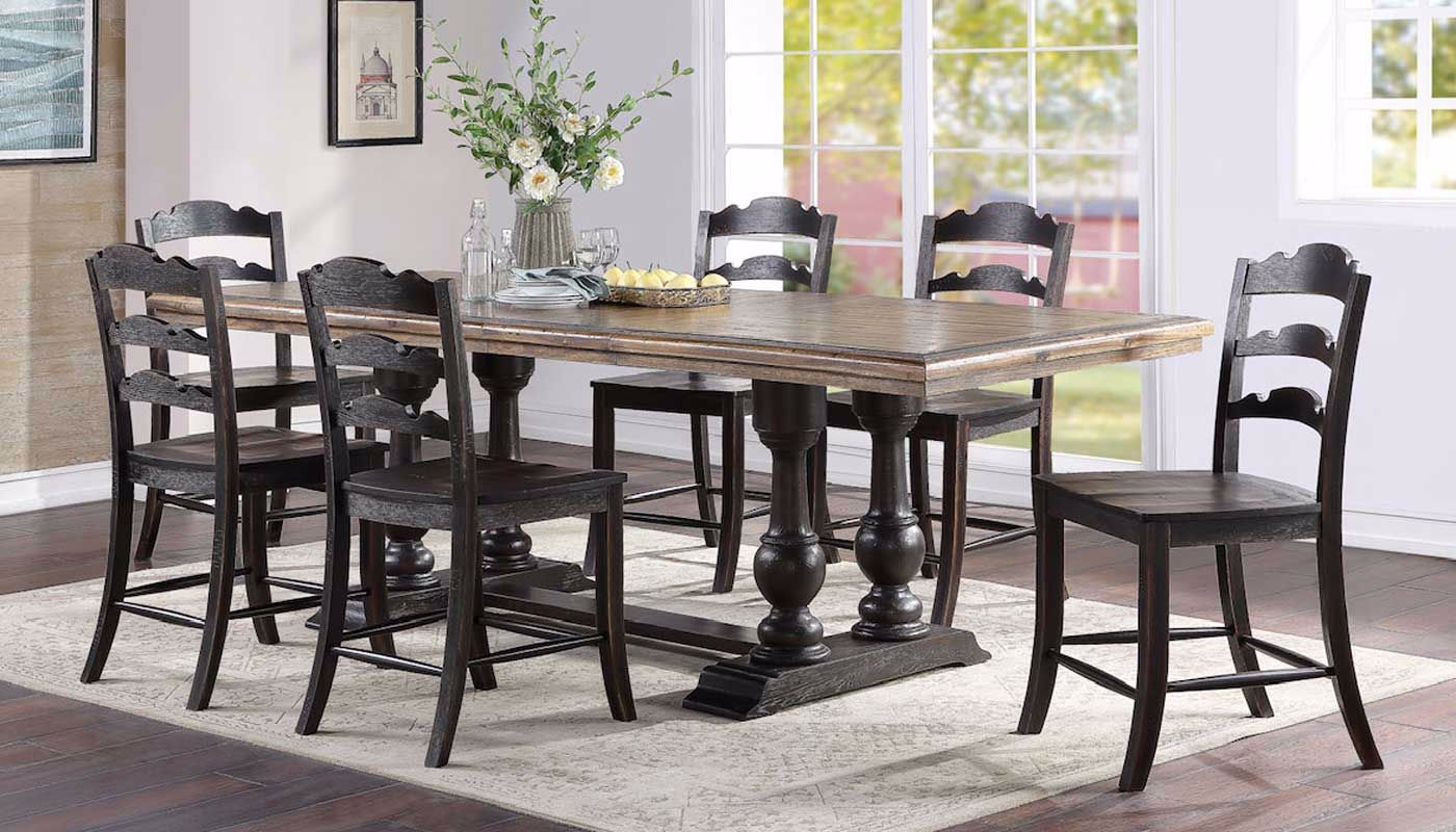 Cidy Counter Height Table Chairs