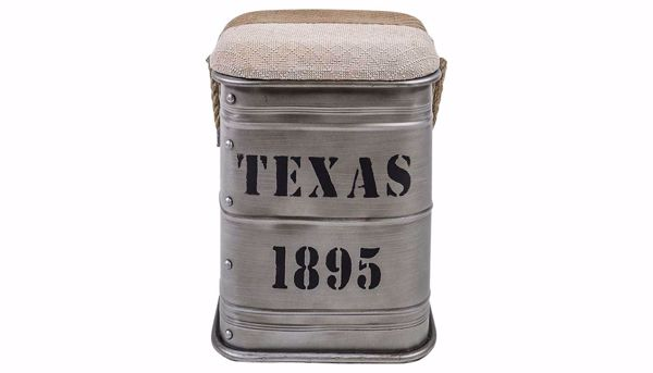 Picture of Texas Side Table Silver