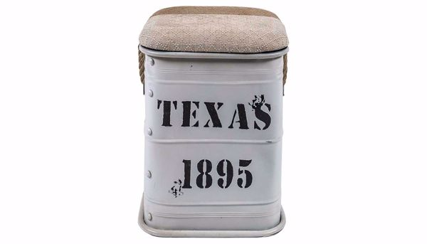 Picture of Texas Side Table White