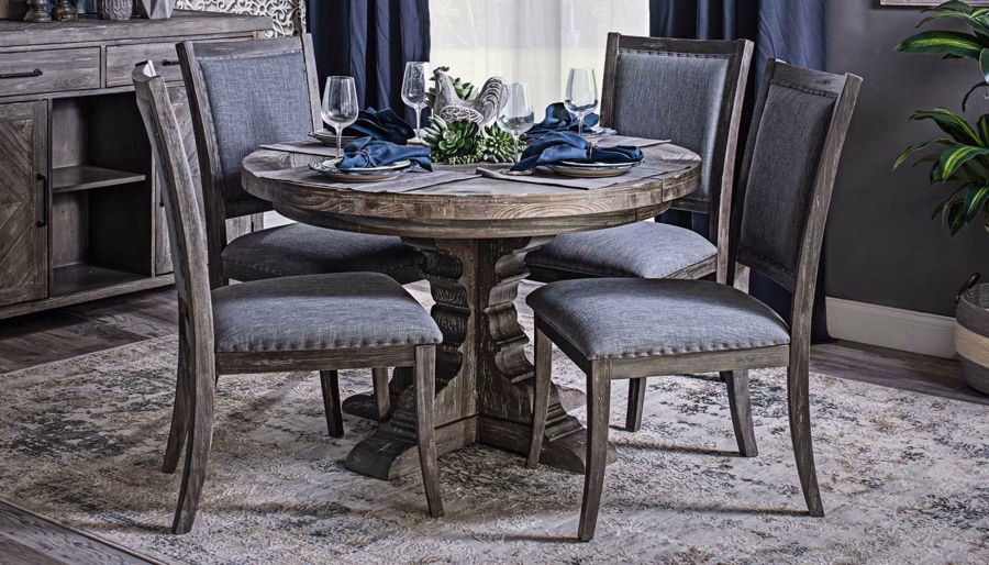 Picture of Port Arthur Round Dining Table & Chairs