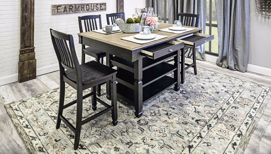 Imagen de Hamilton Counter Height Dining Table & Chairs