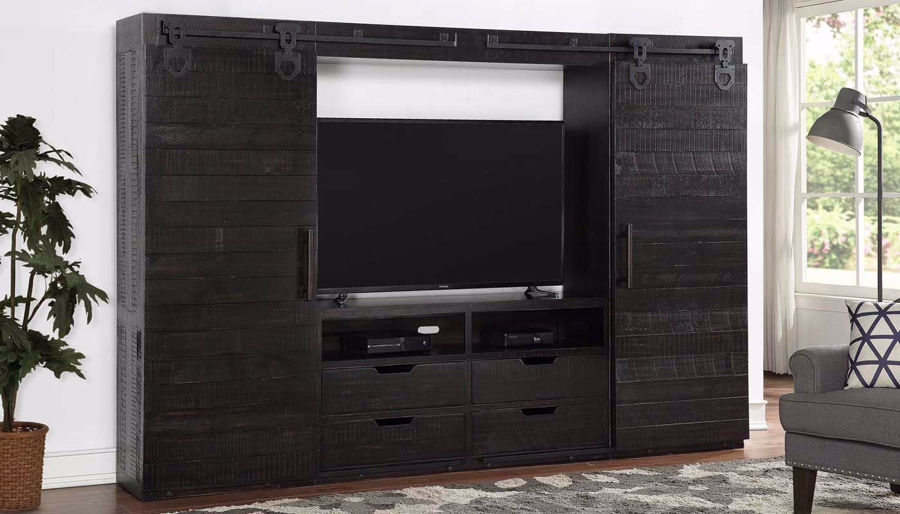 Picture of Wyatt Black Wall Unit