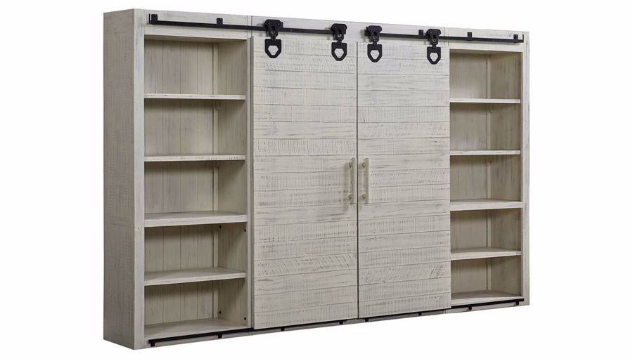 Picture of Wyatt White Wall Unit