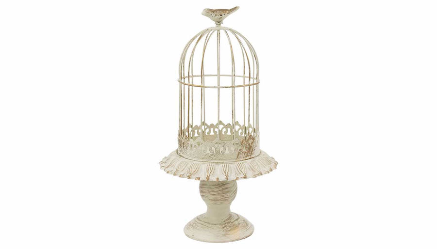 Picture of HZ Vintage Birdcage Cream Small