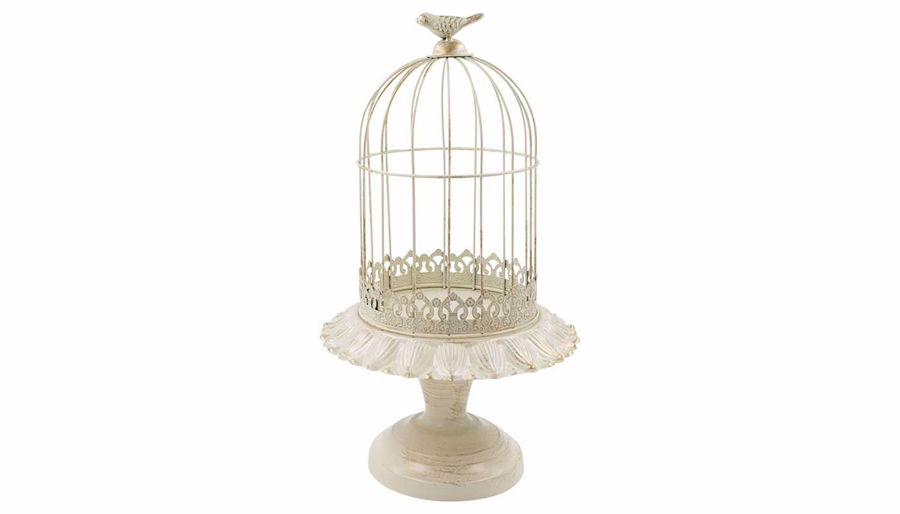 Picture of HZ Vintage Birdcage Cream Large