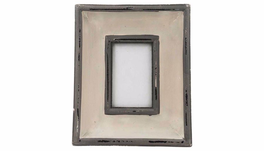 Imagen de HZ White Frame with Grey Trim