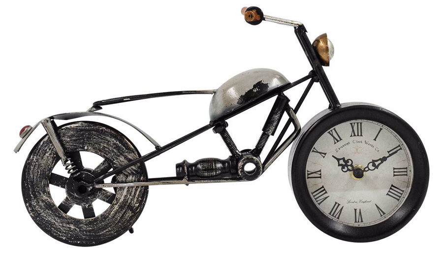 Picture of HZ Motorcycle Clock