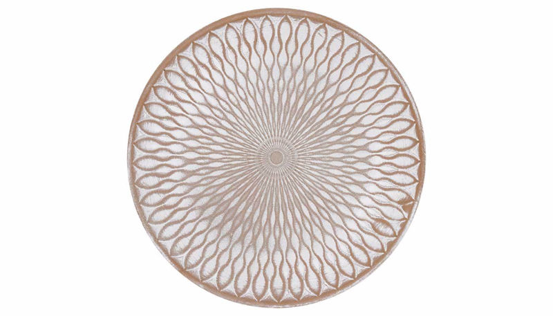 Picture of HZ Geometric Tan Wall Plate Small