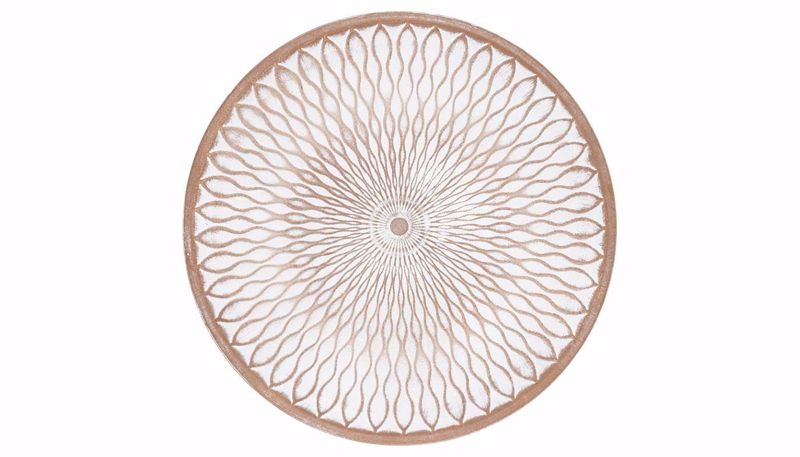 Picture of HZ Geometric Tan Wall Plate Large