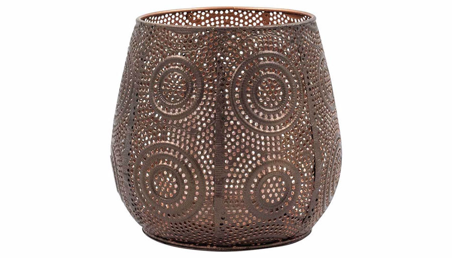 Imagen de HZ Boho Metal Candle Holder Small