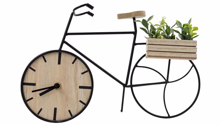 Imagen de HZ Bicycle Figure with Clock