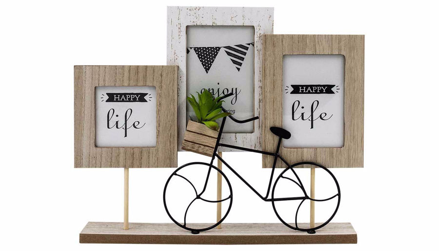 Picture of HZ Three Frames with Bike Decor