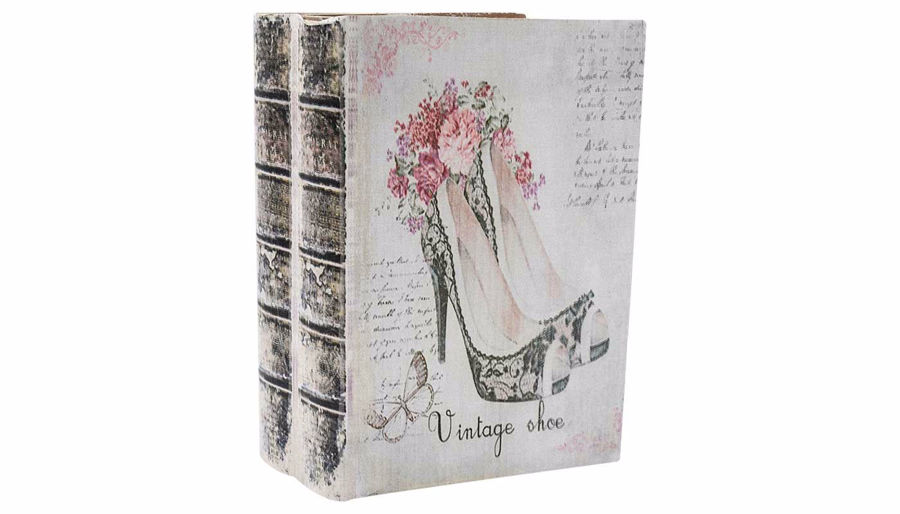 Imagen de HZ Vintage High Heel Book Box Large