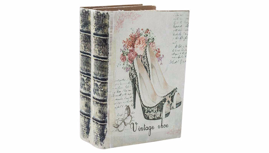 Imagen de HZ Vintage High Heel Book Box Small