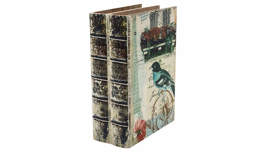 Picture of HZ Vintage Bird Book Box Small